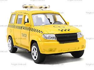 Игрушечный джип «Автопарк Такси», 6403B, купить