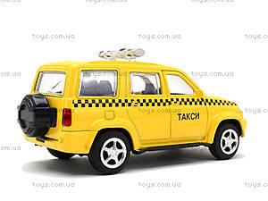 Игрушечный джип «Автопарк Такси», 6403B, отзывы