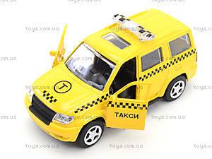 Игрушечный джип «Автопарк Такси», 6403B, игрушки