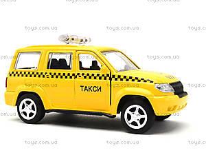 Игрушечный джип «Автопарк Такси», 6403B, детские игрушки