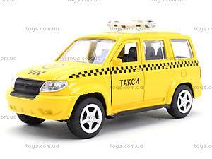 Игрушечный джип «Автопарк Такси», 6403B, магазин игрушек