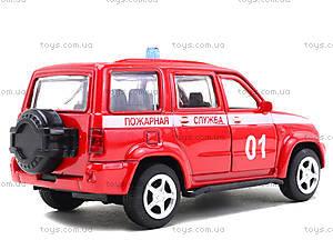 Пожарная машинка металлическая «Автопарк», 6403F, купить
