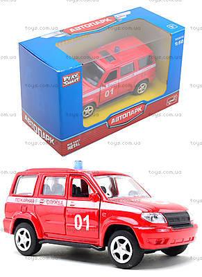 Пожарная машинка металлическая «Автопарк», 6403F