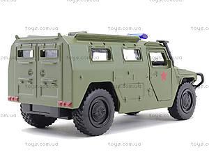 Военная модель джипа «Автопарк», 6408C, детские игрушки