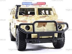 Металлическая модель джипа «Автопарк», 6408D, купить