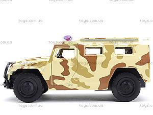 Металлическая модель джипа «Автопарк», 6408D, игрушки