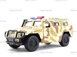 Металлическая модель джипа «Автопарк», 6408D, детские игрушки