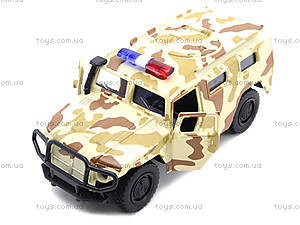 Металлическая модель джипа «Автопарк», 6408D, toys.com.ua