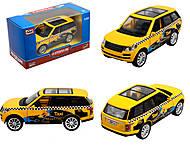 Модель джипа - такси серия «Автопарк», 6524WF-E