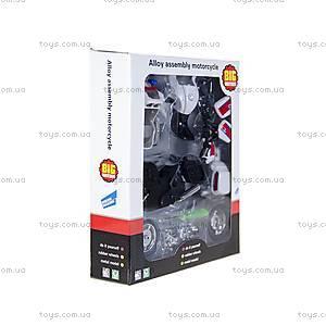 Модель для сборки «Полицейский мотоцикл», 10784-3088E, цена