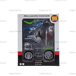 Модель для сборки «Спортивный мотоцикл», 10784-2788E, цена