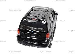 Модель Ford Escape Xlt Sport, 22463S-W, игрушки