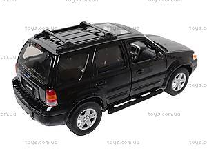 Модель Ford Escape Xlt Sport, 22463S-W, детские игрушки