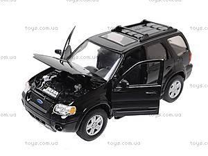 Модель Ford Escape Xlt Sport, 22463S-W, toys.com.ua
