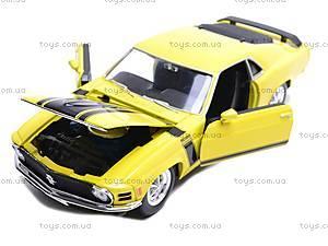 Модель Ford Mustang Boss , 22088W, игрушки