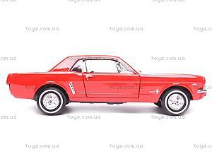Модель Ford Mustang Coupe, масштаб 1:24, 22451W, купить