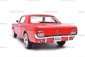 Модель Ford Mustang Coupe, масштаб 1:24, 22451W, фото