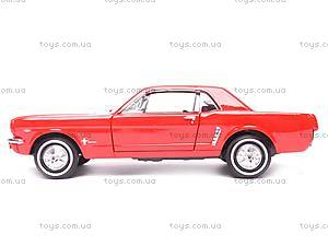 Модель Ford Mustang Coupe, масштаб 1:24, 22451W, отзывы