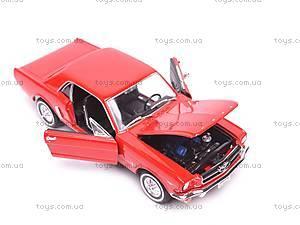 Модель Ford Mustang Coupe, масштаб 1:24, 22451W, игрушки