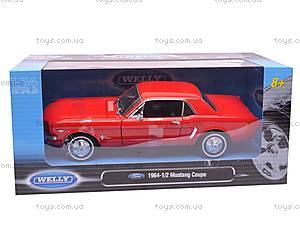 Модель Ford Mustang Coupe, масштаб 1:24, 22451W, игрушки