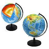 """Модель-глобус """"Строение Земли"""", Д984у, отзывы"""