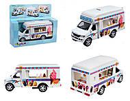 Игрушечная модель грузовика Ice-ream Truck, KS5253W, купить
