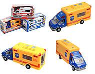 Игрушечная модель грузовика «Спецслужбы», 09434445, фото