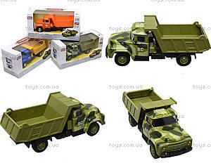 Модель грузовика PLAY SMART «Автопарк», 6517-B-C-D