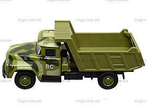 Модель грузовика PLAY SMART «Автопарк», 6517-B-C-D, детские игрушки