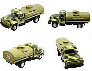 Инерционный металлический грузовик с люком, 6562, купить
