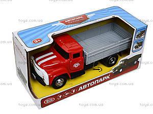 Металлическая модель грузовика «Автопарк», 9709C, отзывы