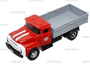 Металлическая модель грузовика «Автопарк», 9709C, детские игрушки