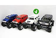 Модель Hummer H2 Off-Road, KT5337WB, детские игрушки