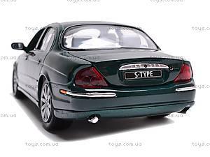 Модель Jaguar S-Type  , 29398W, игрушки