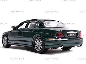 Модель Jaguar S-Type  , 29398W, детские игрушки