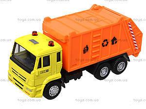 Игрушечная машинка «Мусоровоз», 6512ABCD, toys.com.ua