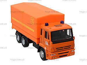 Игровая модель «КАМАЗа» с подъемным кузовом, 6513C, купить