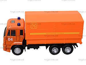 Игровая модель «КАМАЗа» с подъемным кузовом, 6513C, отзывы