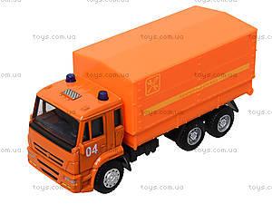 Игровая модель «КАМАЗа» с подъемным кузовом, 6513C, игрушки