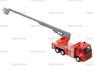 Игрушечная машинка «Пожарная служба», 6514AB, фото