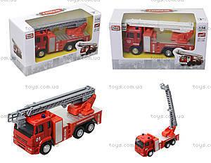 Игрушечная машинка «Пожарная служба», 6514AB, игрушки