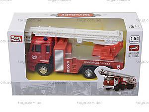 Игрушечная машинка «Пожарная служба», 6514AB, детские игрушки