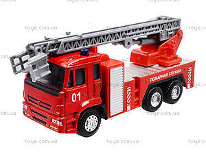 Игрушечная машинка «Пожарная служба», 6514AB, іграшки