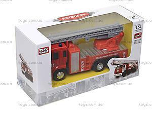 Игрушечная машинка «Пожарная служба», 6514AB, отзывы