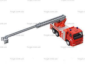 Игрушечная машинка «Пожарная служба», 6514AB, цена