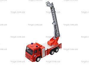 Игрушечная машинка «Пожарная служба», 6514AB, магазин игрушек