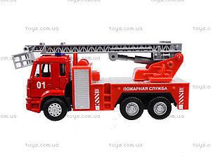 Игрушечная машинка «Пожарная служба», 6514AB, доставка