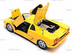 Модель Lamborghini Diablo , 29374W, игрушки
