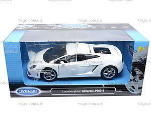 Модель Lamborghini Gallardo, масштаб 1:24, 24005W, цена