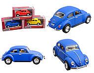 Игровая модель Volkswagen Classical Beetle (Matte), KT5057WM, фото